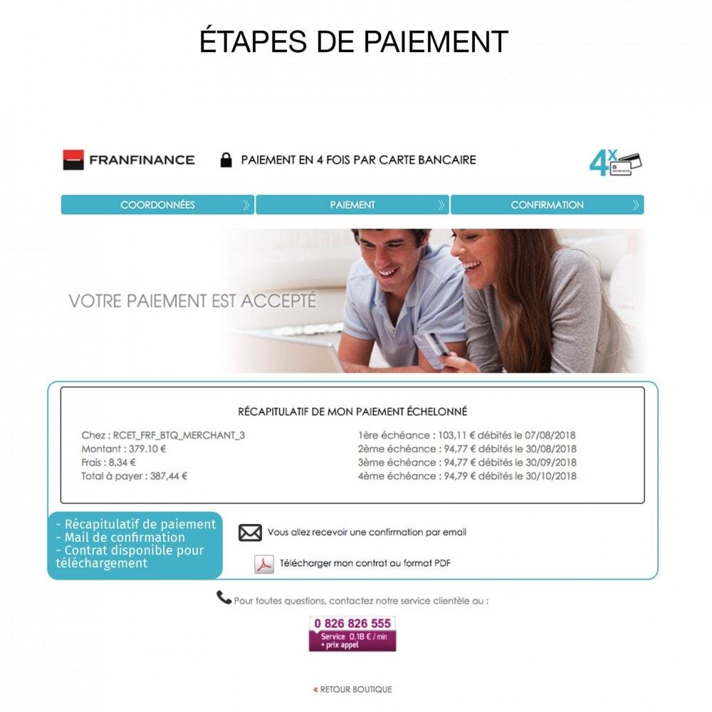 module - Paiement par Carte ou Wallet - Solutions de Paiement avec Franfinance - 8