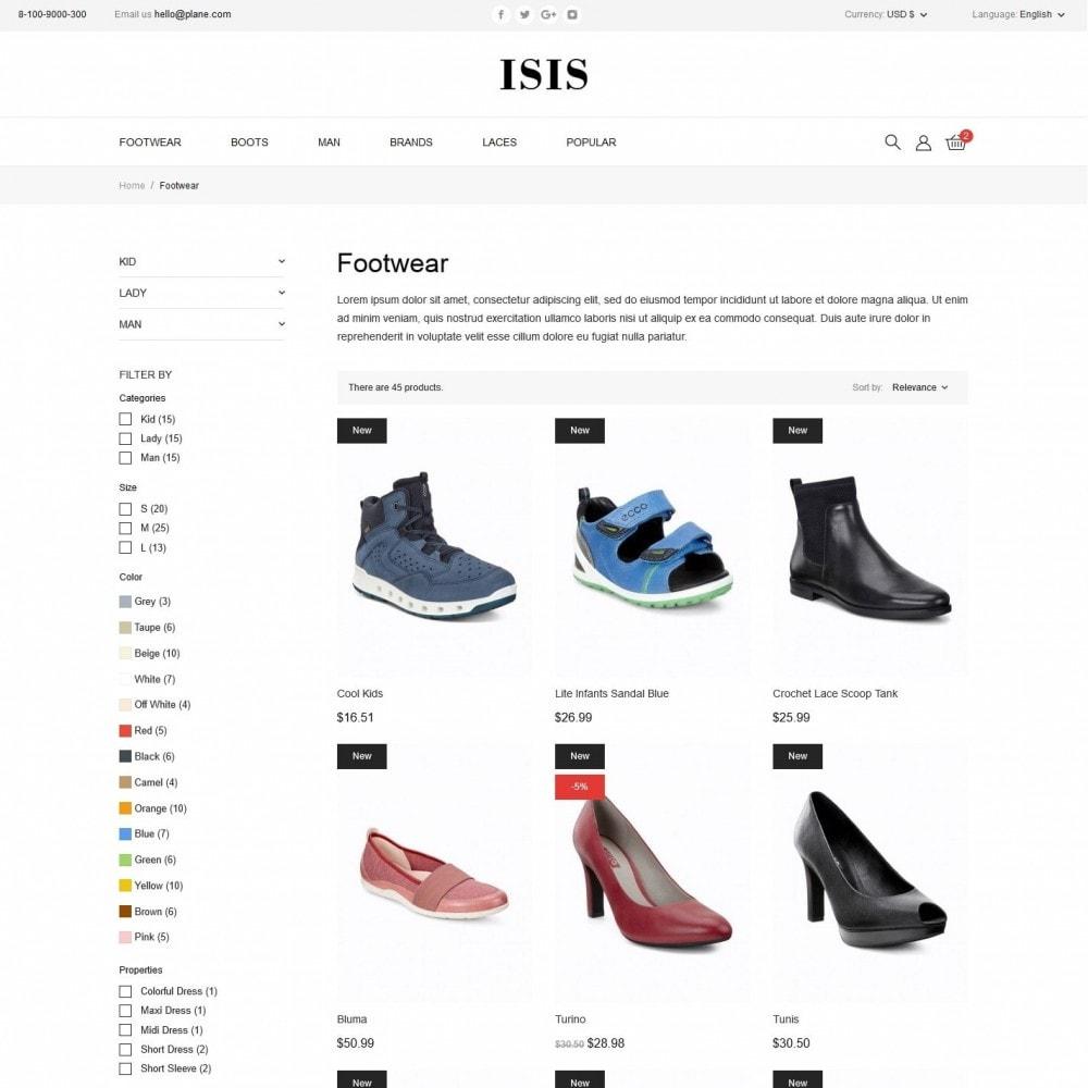 theme - Fashion & Shoes - Isis Shop - 5