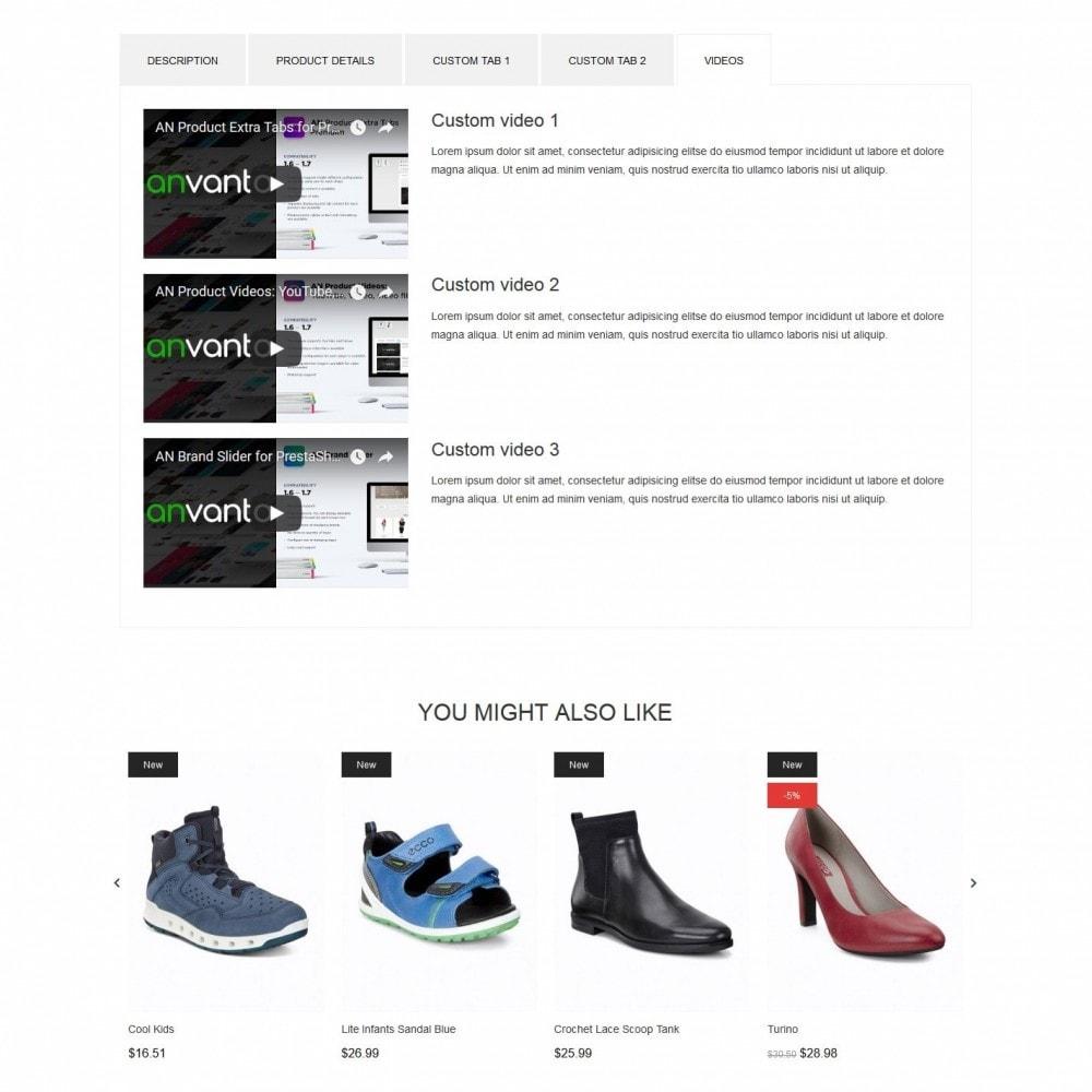 theme - Fashion & Shoes - Isis Shop - 9