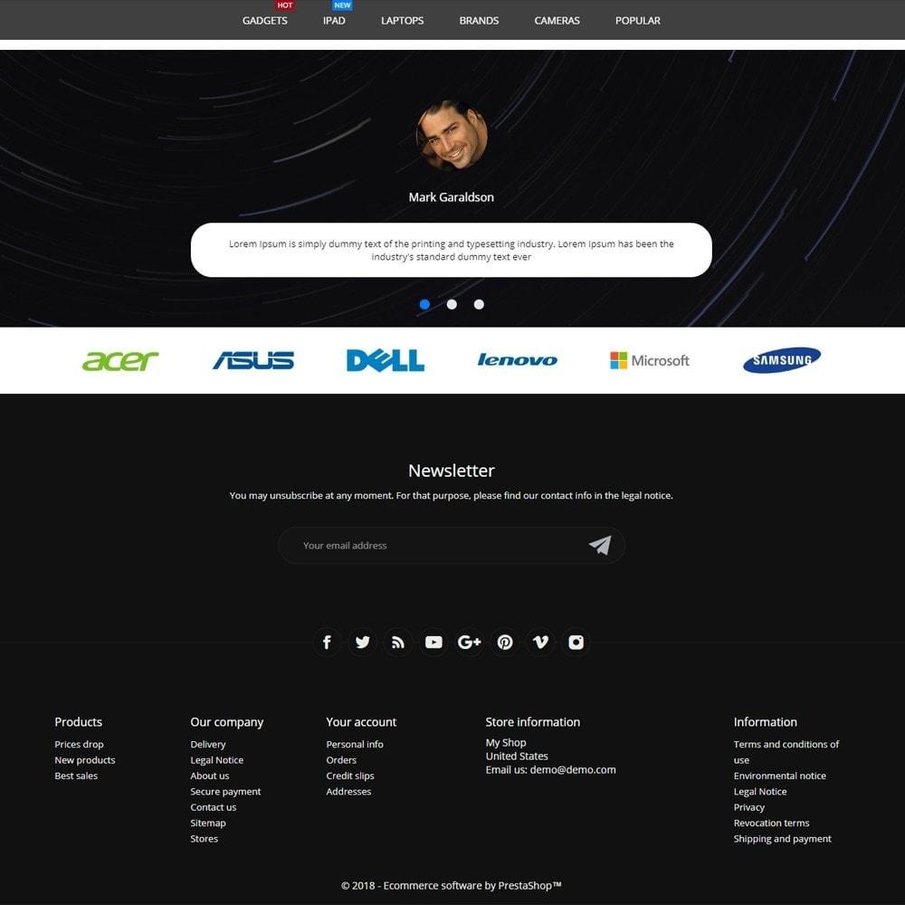 theme - Electronics & Computers - eCore - High-tech Shop - 4