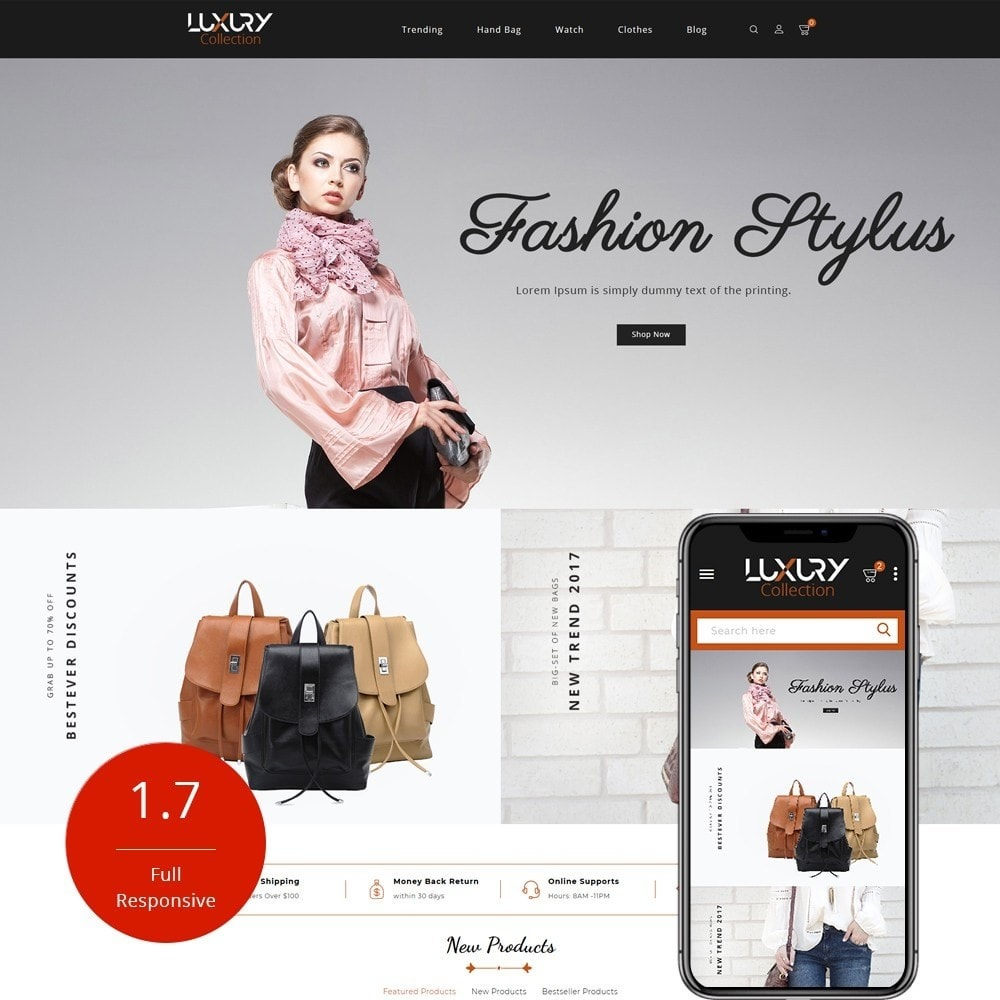 theme - Mode & Schuhe - Luxury - fashion shop - 1