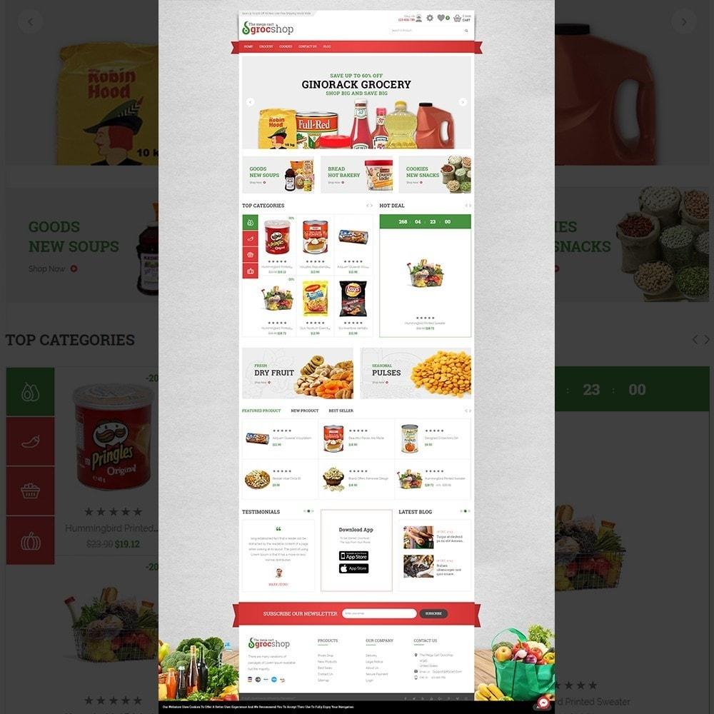 theme - Żywność & Restauracje - grocshop - vegetables & grocery store - 2