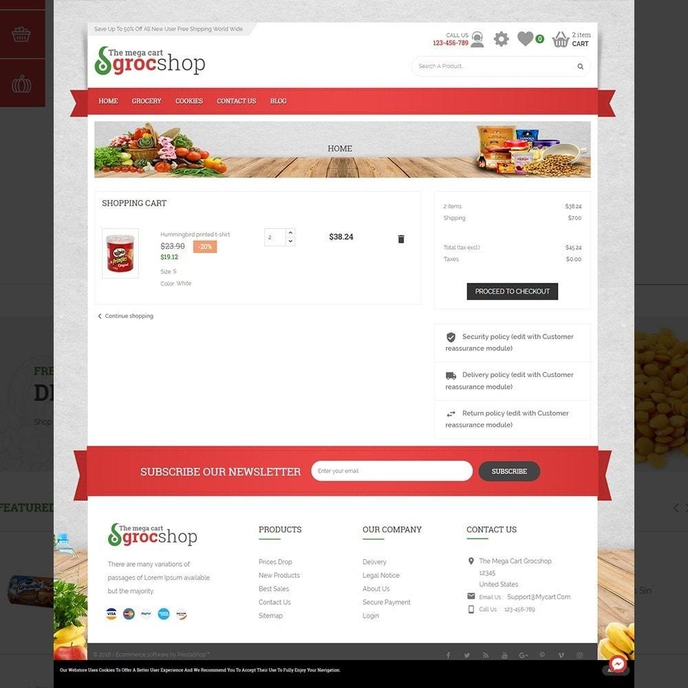 theme - Żywność & Restauracje - grocshop - vegetables & grocery store - 4