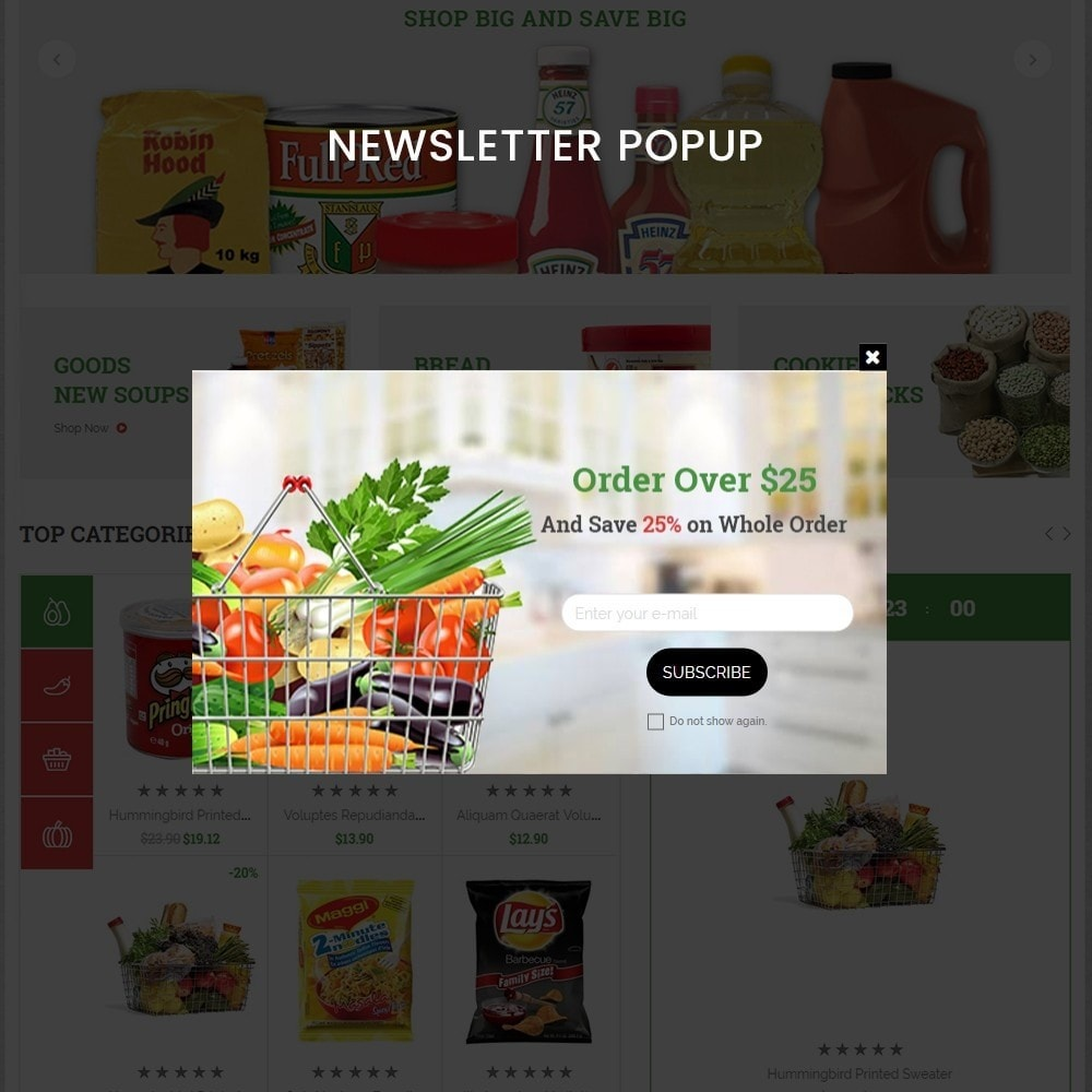 theme - Alimentation & Restauration - grocshop - vegetables & grocery store - 10