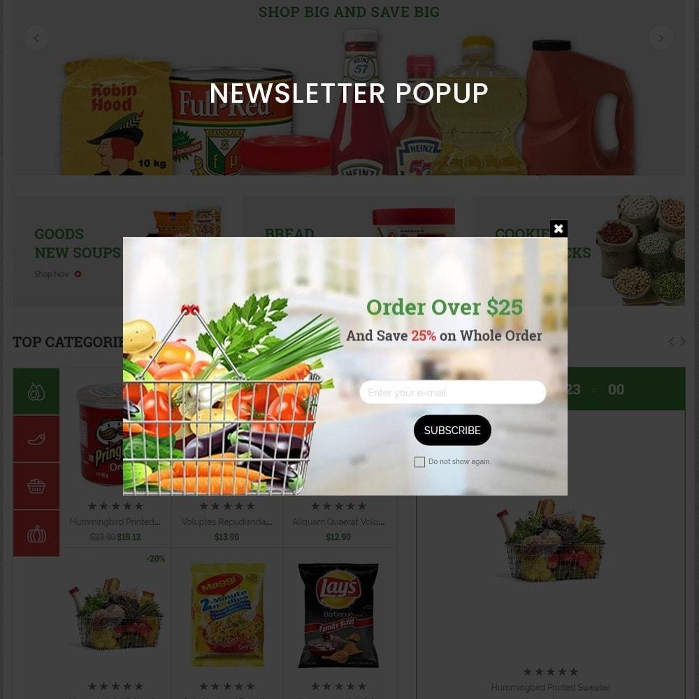 theme - Żywność & Restauracje - grocshop - vegetables & grocery store - 10