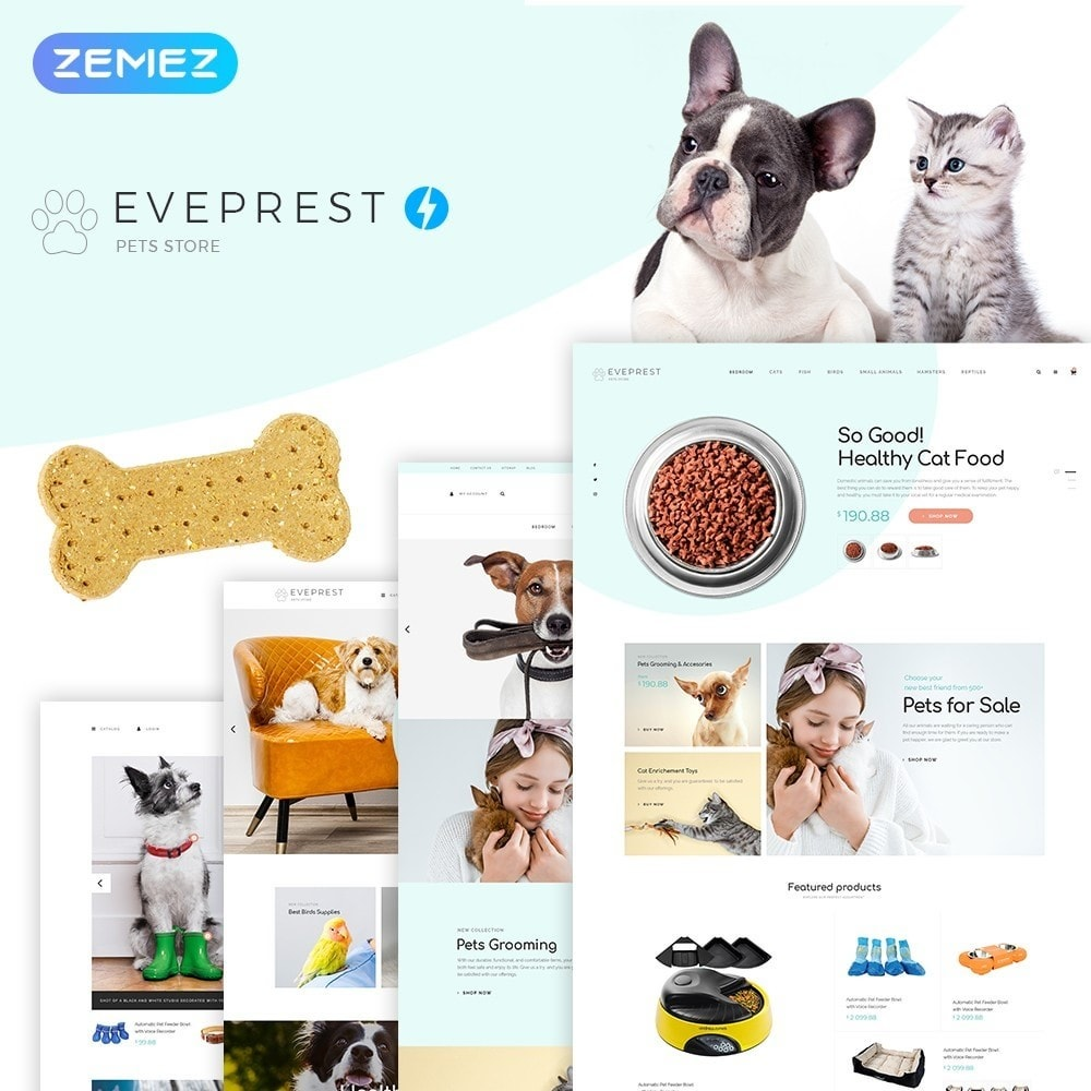 theme - Animals & Pets - Eveprest - Pets Store - 2
