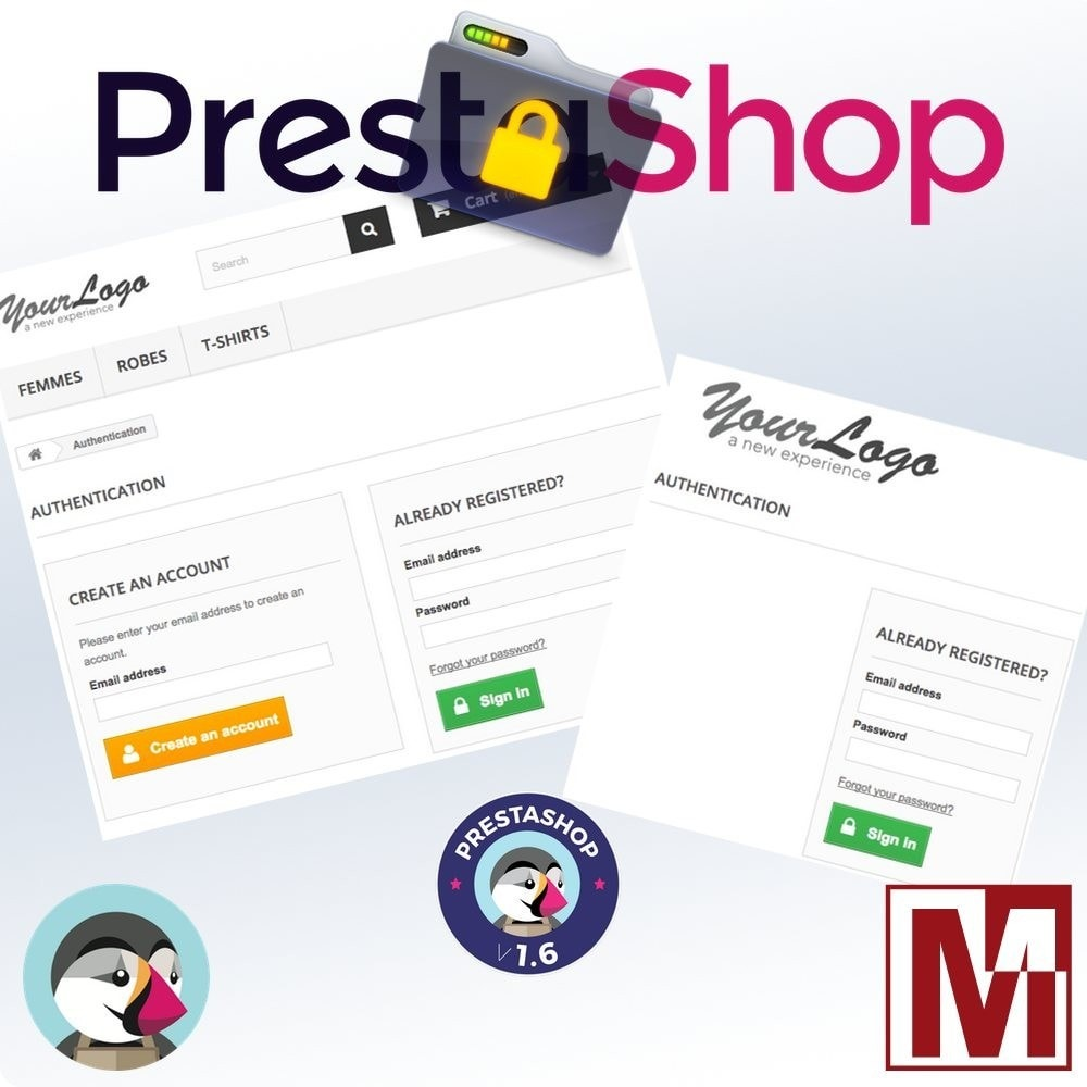 module - Sicherheit & Brechtigungen - B2B Privatize your shop - 3