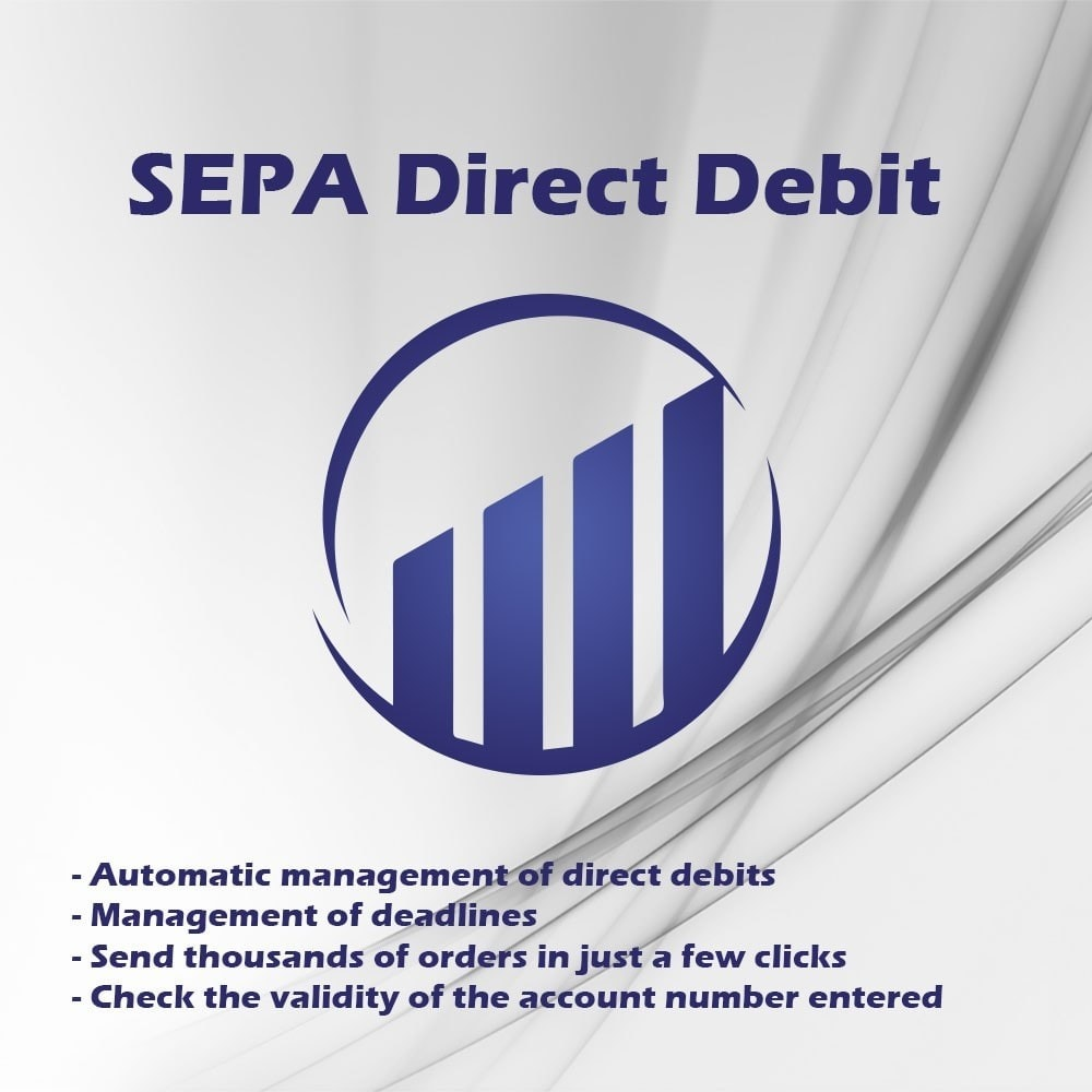 module - Bank Transfer Payment - SEPA direct debit - 1