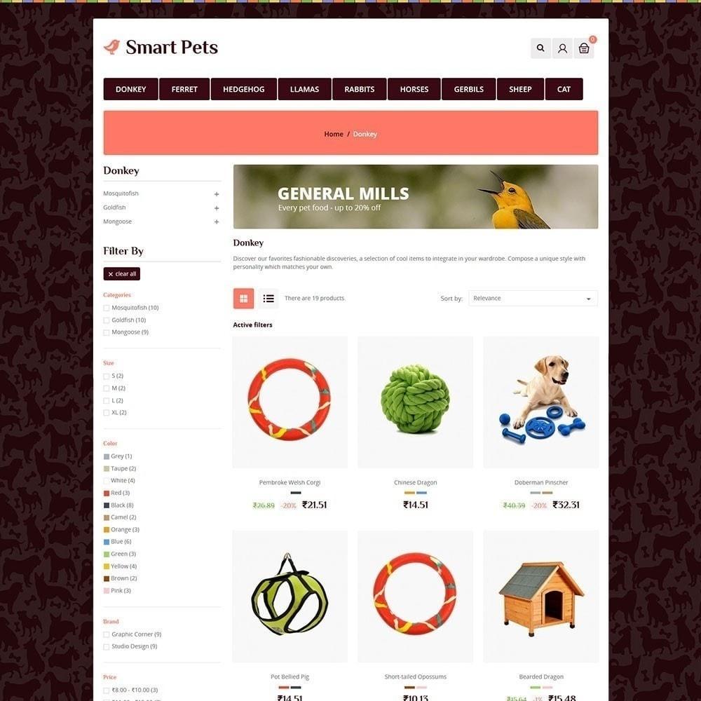 theme - Animali - Smart Pet - Animal Pet Store - 2