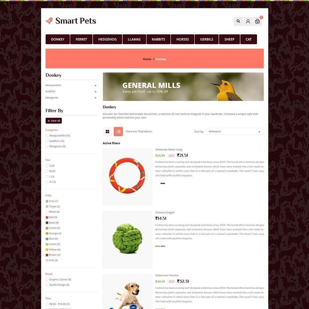 theme - Zwierzęta - Smart Pet - Animal Pet Store - 5