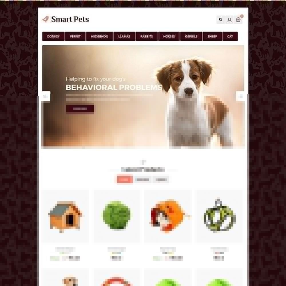 theme - Animais - Animal de Estimação Inteligente - Animal Pet Store - 2