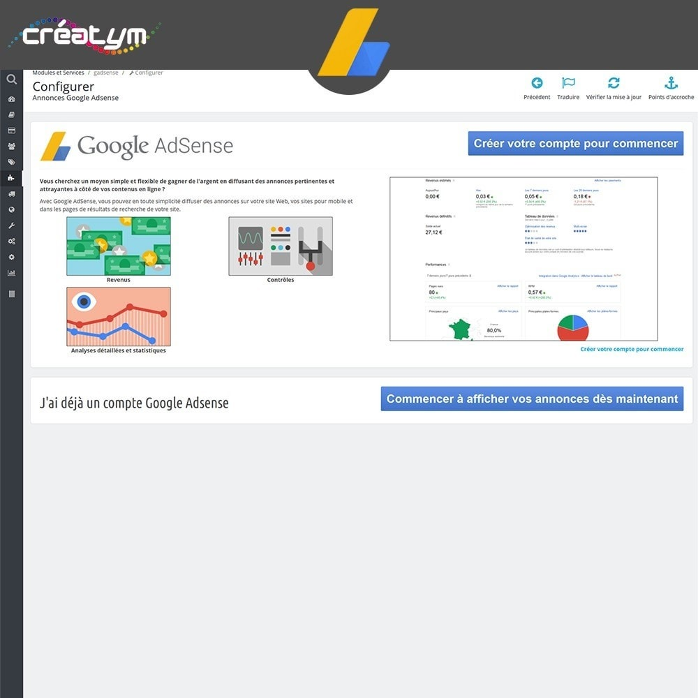 bundle - Analyses & Statistiques - Pack Google : Adwords + Adsense + Avis Clients - 2