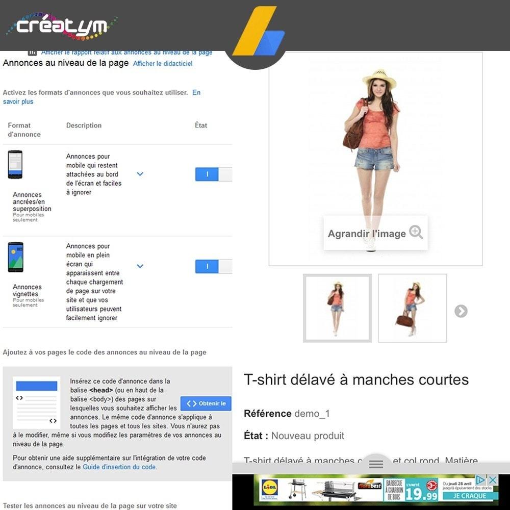 module - Référencement payant (SEA SEM) & Affiliation - Google Adsense - 7