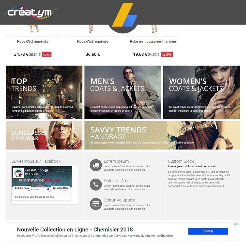 module - SEA SEM (Bezahlte Werbung) & Affiliate Plattformen - Google Adsense - 6
