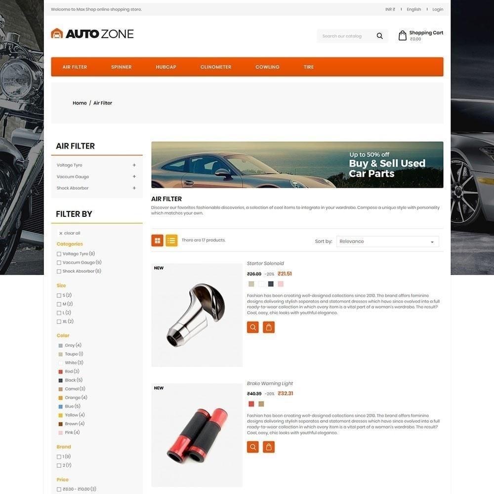 theme - Automotive & Cars - Autozone - Auto Store - 5