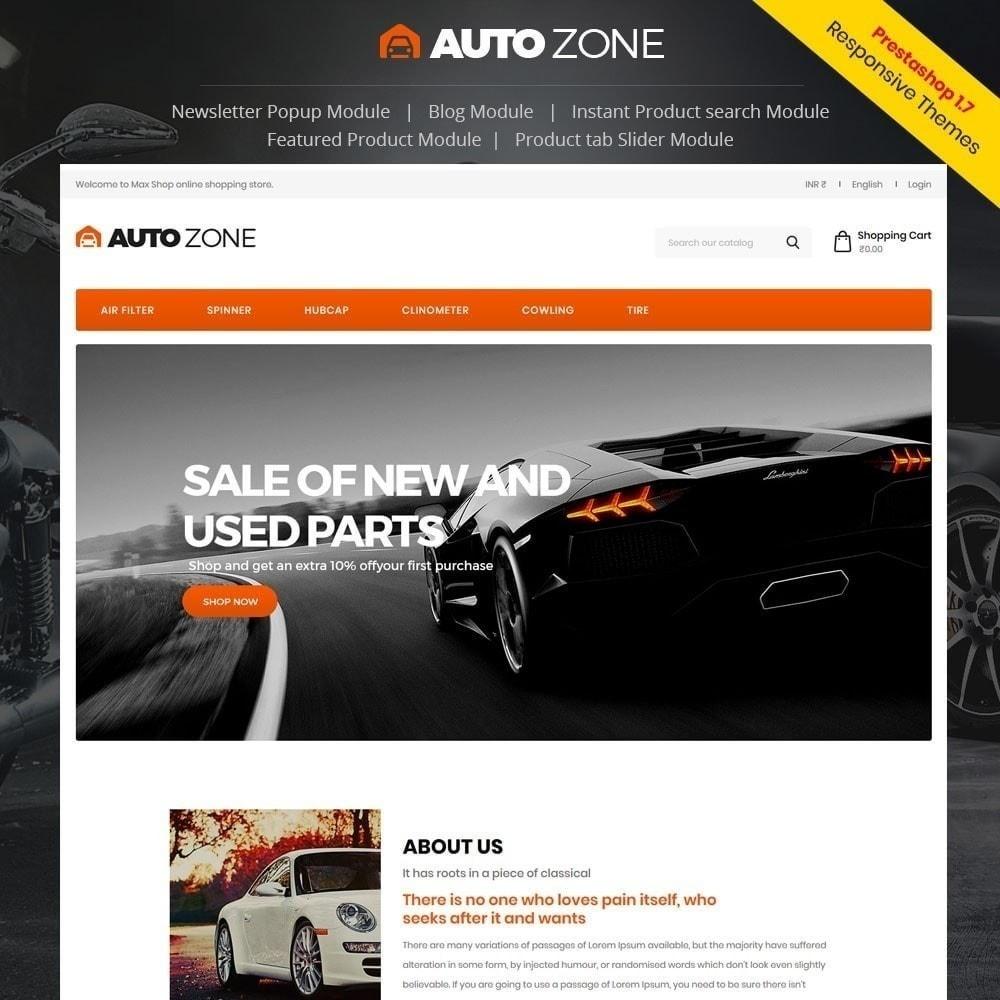theme - Auto & Moto - Autozone - Auto Store - 1