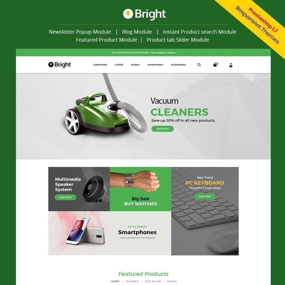 theme - Eletrônicos & High Tech - Loja de eletrônicos brilhante - 1