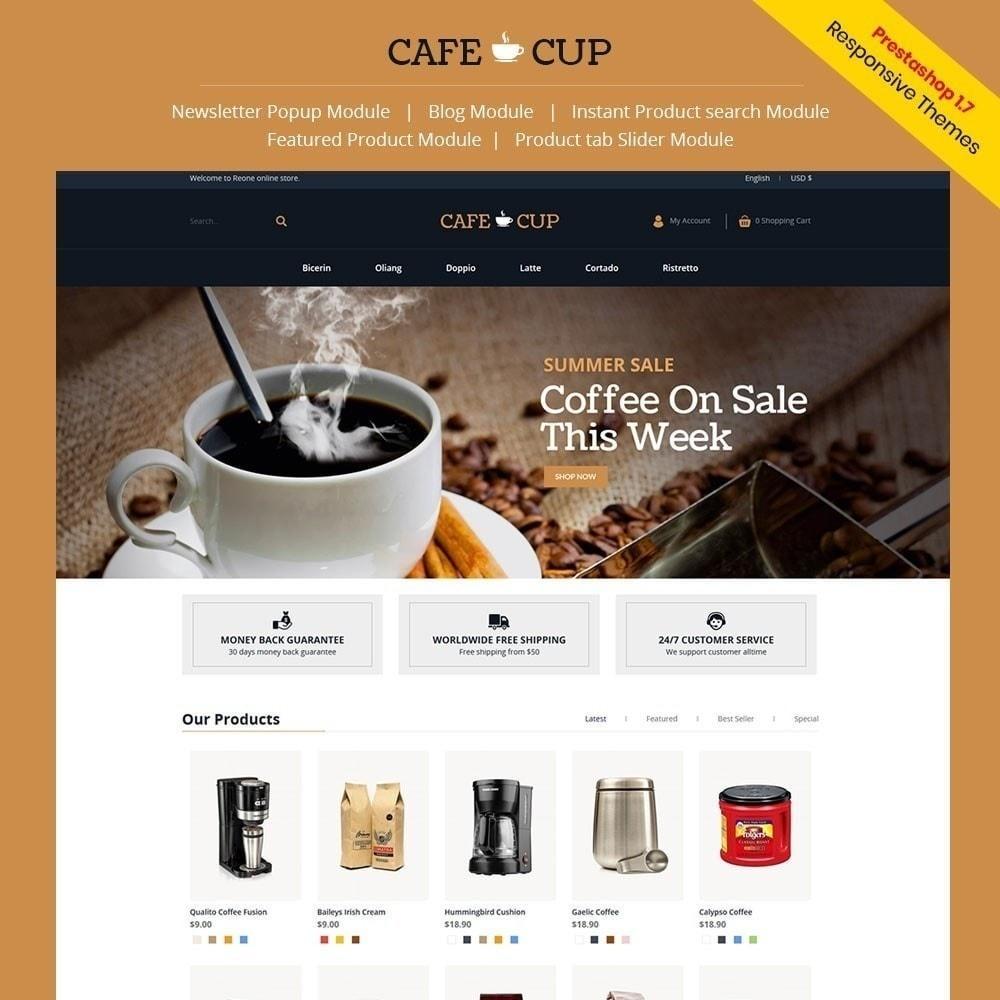 theme - Eten & Restaurant - Cafe-kop - Koffiehuis - 1