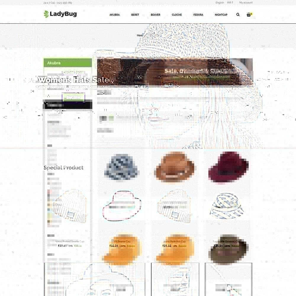 theme - Mode & Schoenen - Lady Bag Store - 2