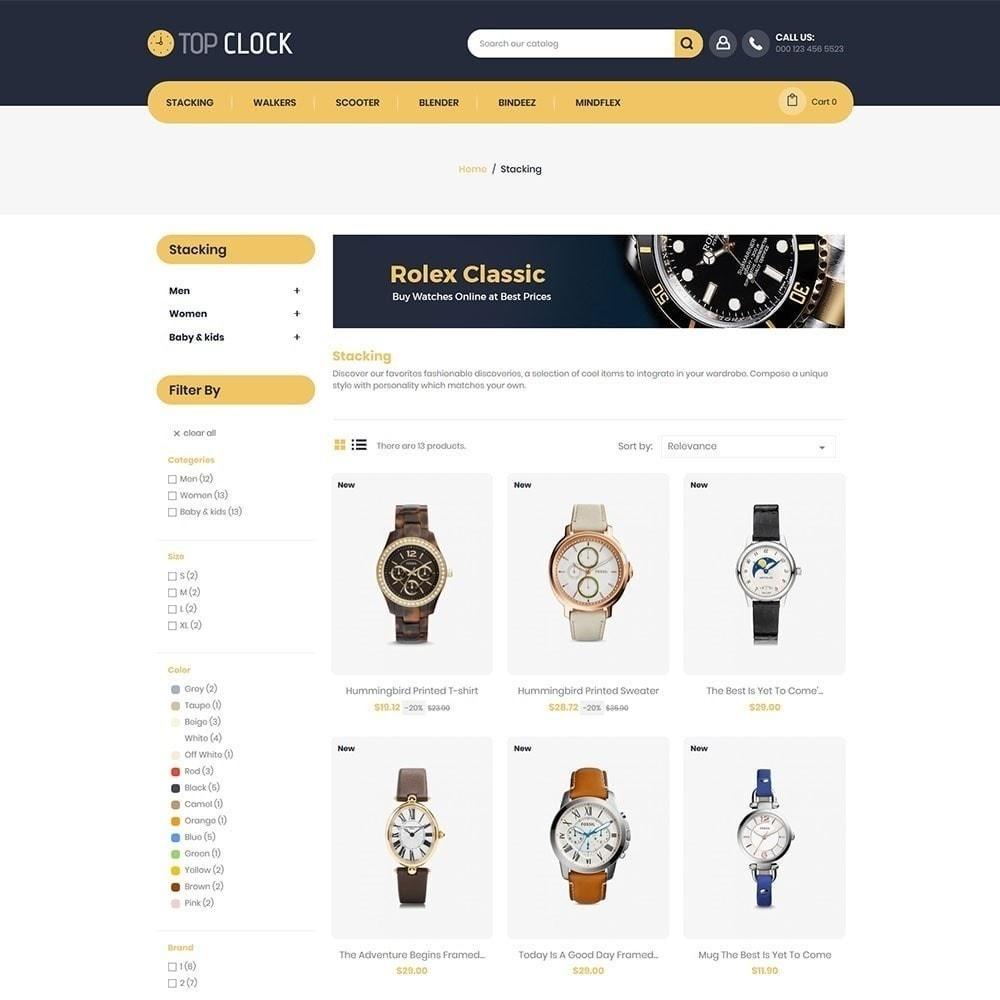 theme - Moda y Calzado - Reloj superior - Tienda de relojes - 2