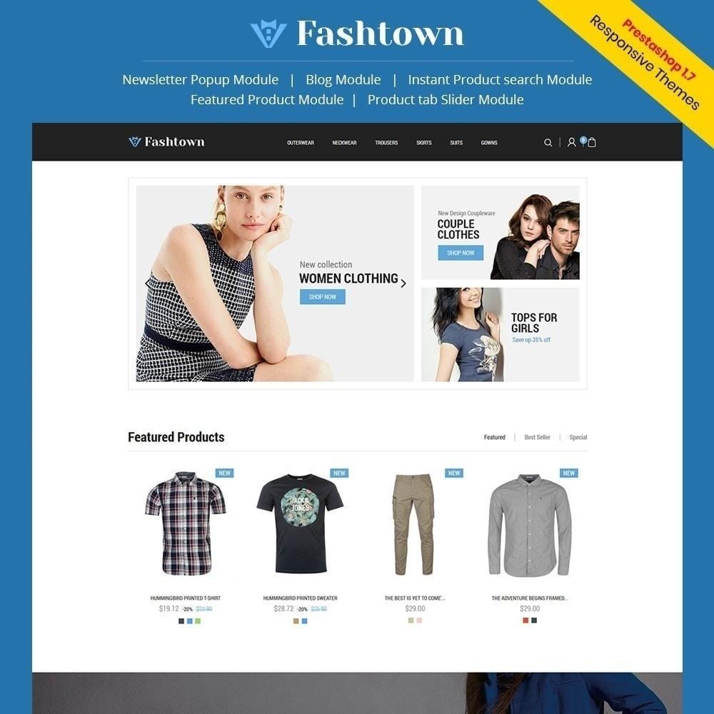 theme - Mode & Chaussures - Fashtown - Magasin de mode - 1