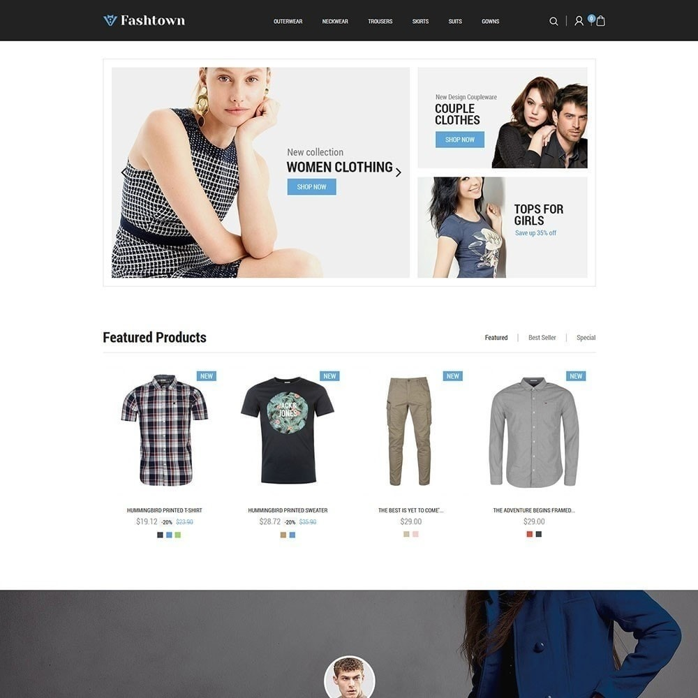 theme - Moda & Calzature - Fashtown - Fashion Store - 2