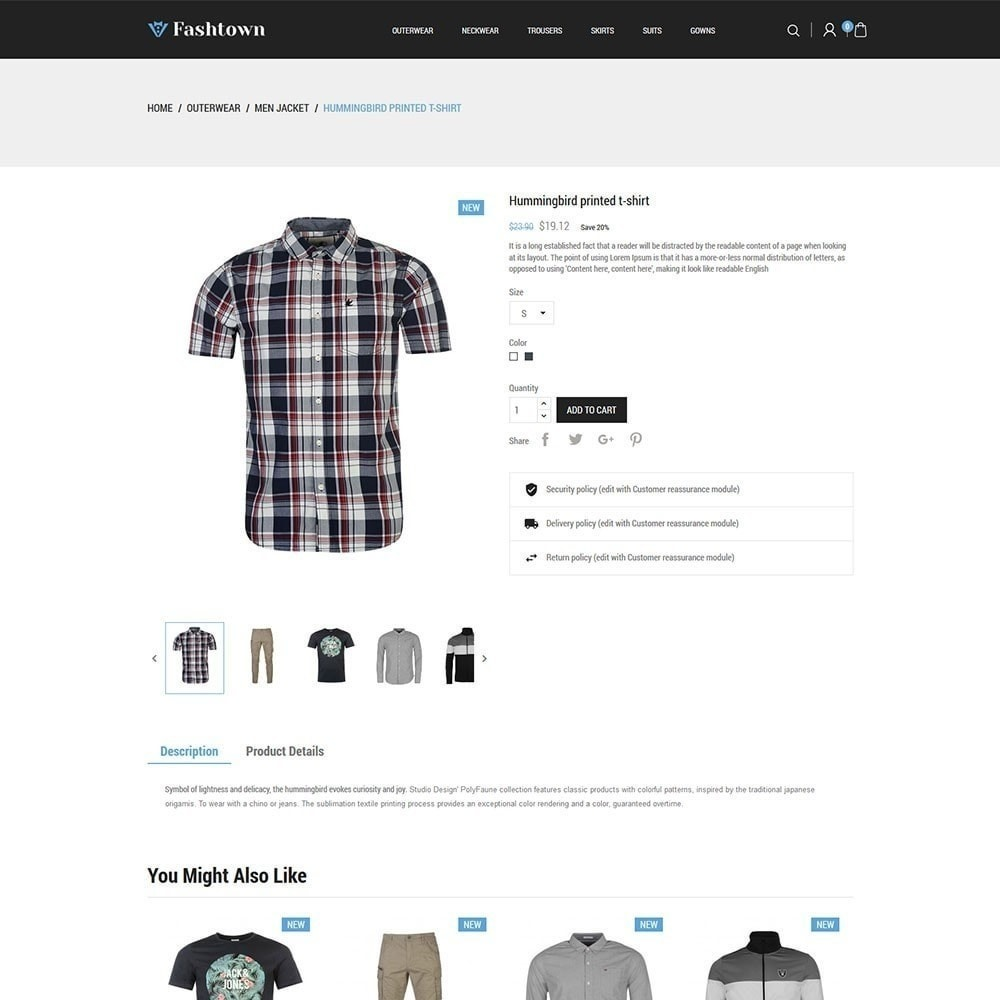 theme - Moda & Calzature - Fashtown - Fashion Store - 4
