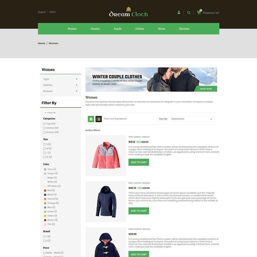 theme - Mode & Schoenen - Dream Cloth Store - 5