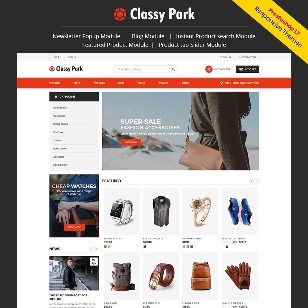 theme - Мода и обувь - Классический магазин одежды - 1