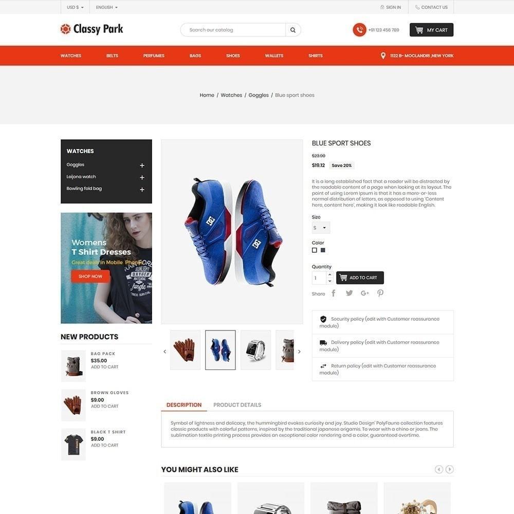 theme - Мода и обувь - Классический магазин одежды - 5