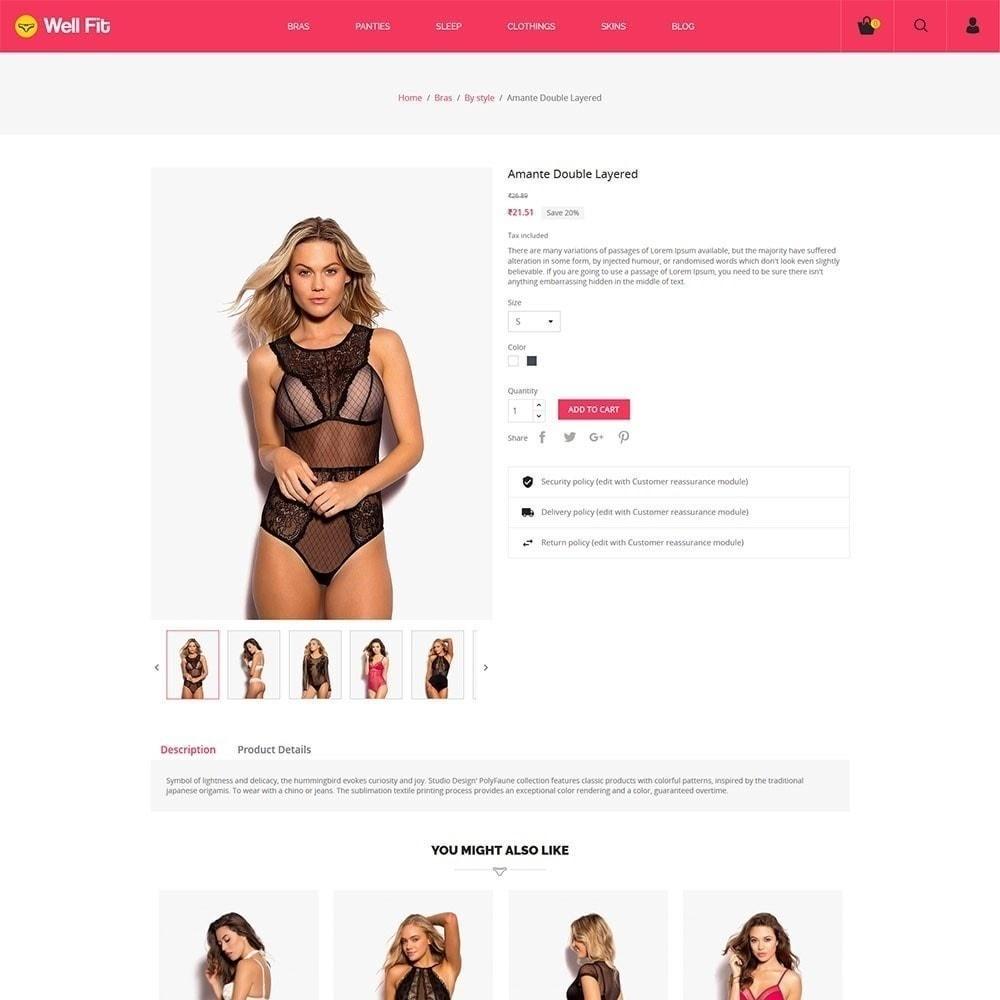 theme - Fashion & Shoes - Wellfit - Lingerie  Fashion Store - 4