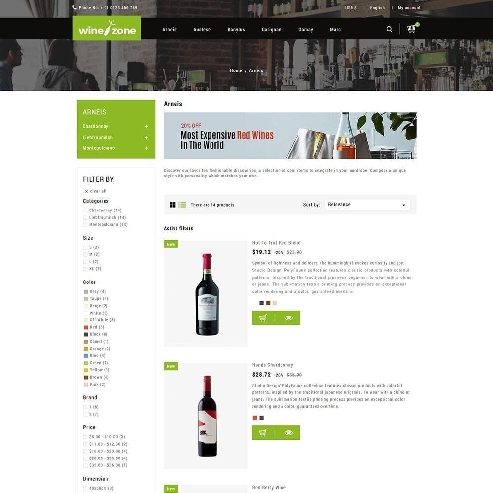 theme - Bebidas y Tabaco - Winezone - Tienda de vinos - 2