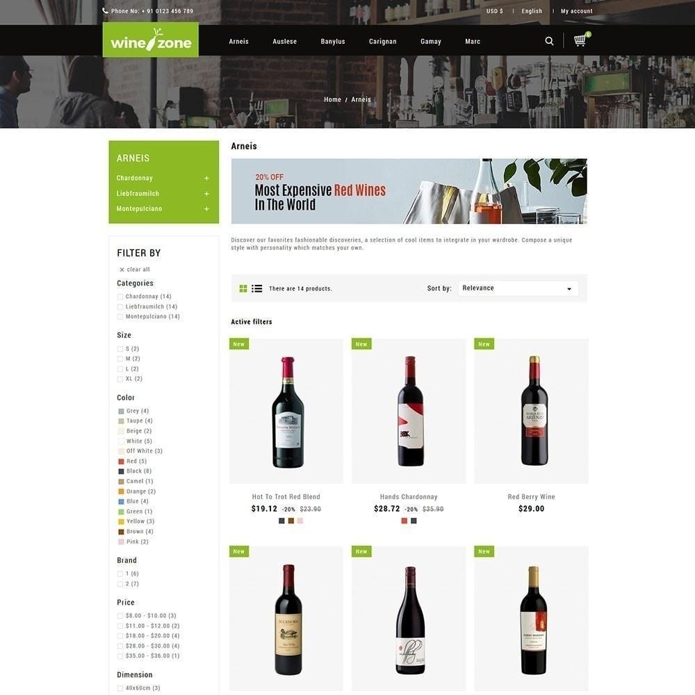 theme - Żywność & Restauracje - Winezone - Wine Store - 5