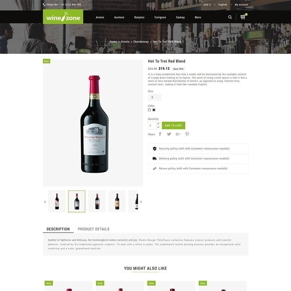 theme - Продовольствие и рестораны - Winezone - магазин вина - 5