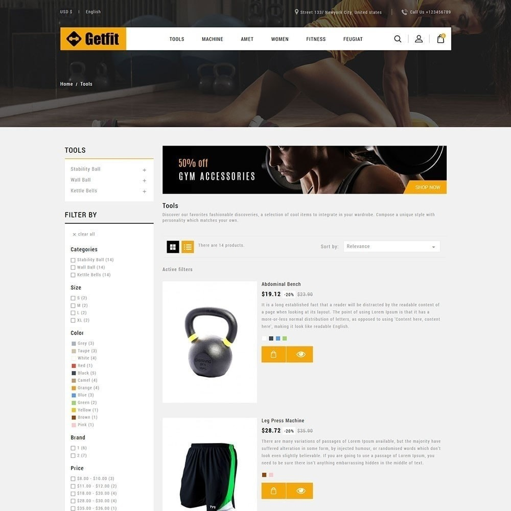 theme - Moda & Calzature - Get Fit Gym Store - 3