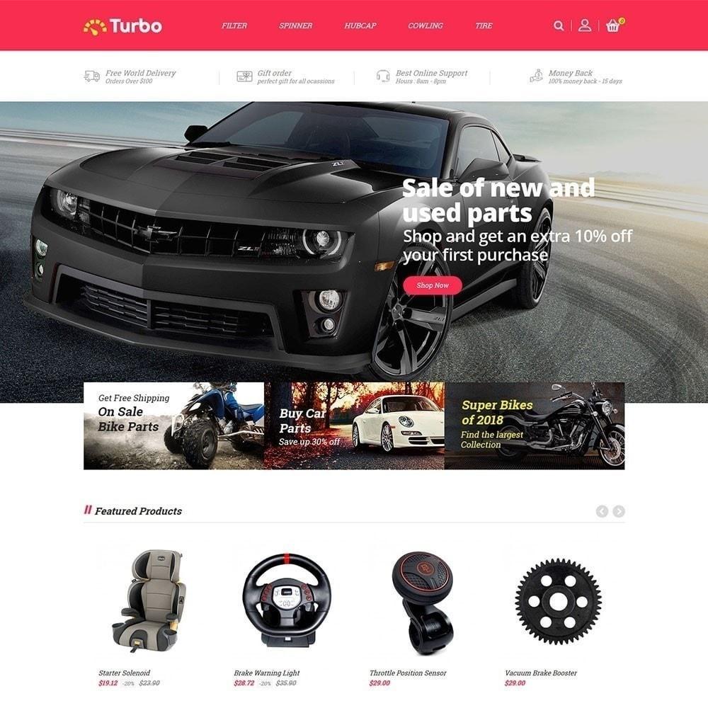 theme - Samochody - Turbo Auto Store - 5