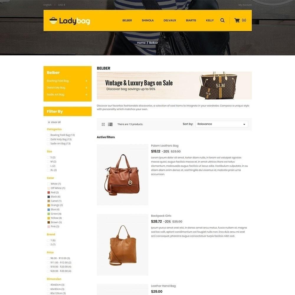theme - Moda y Calzado - Tienda de bolsos Ladybag - 2