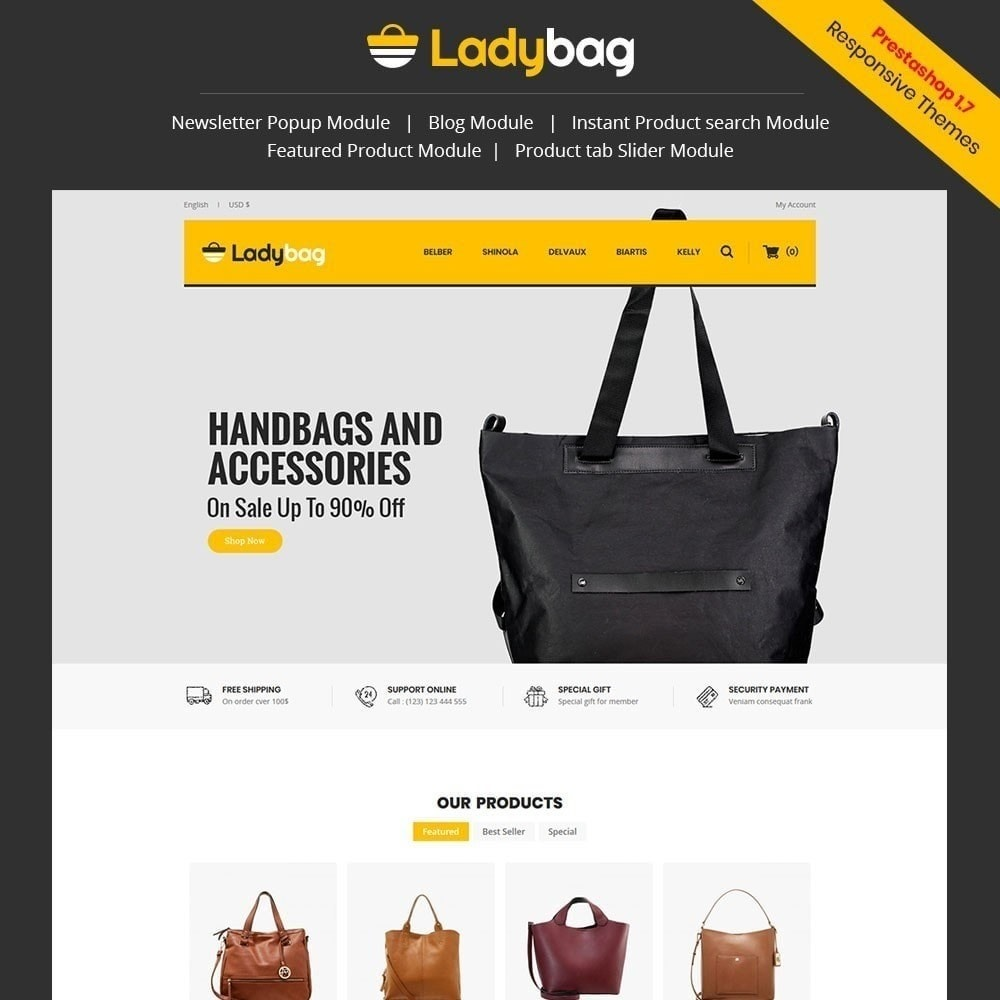 theme - Mode & Schoenen - Ladybag Bag Store - 1