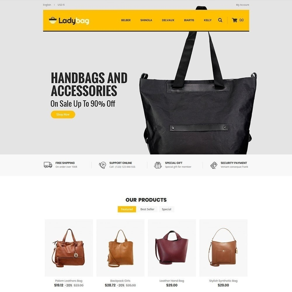 theme - Mode & Schoenen - Ladybag Bag Store - 2