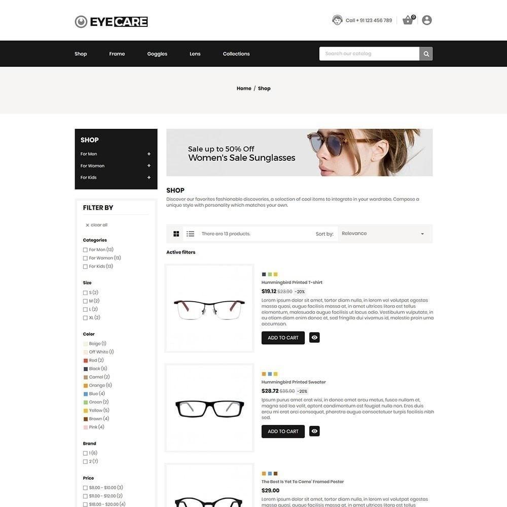 theme - Moda & Calzature - Eyecare - Fashion Store - 3