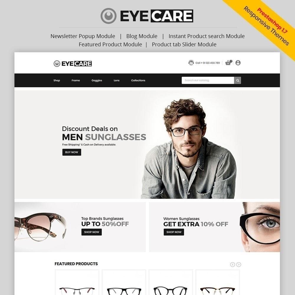 theme - Мода и обувь - Eyecare - Модный магазин - 1