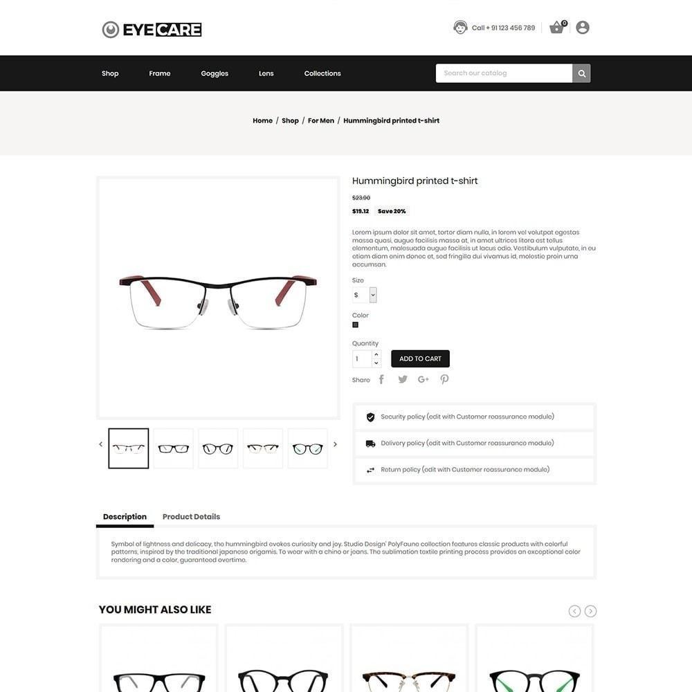 theme - Мода и обувь - Eyecare - Модный магазин - 3