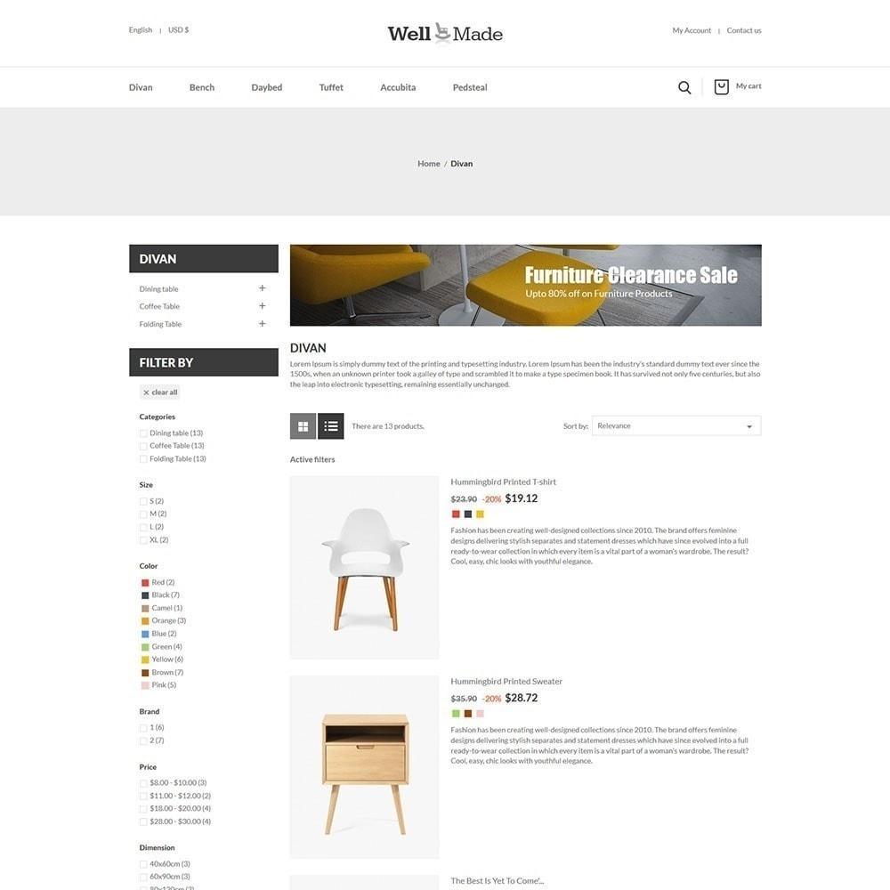theme - Мода и обувь - Магазин мягкой мебели Wellmade - 4