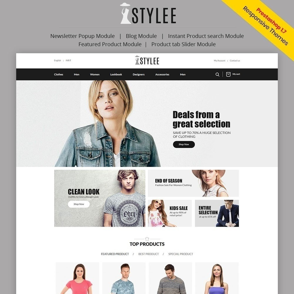 theme - Fashion & Shoes - The Stylee - Fashion Store - 1