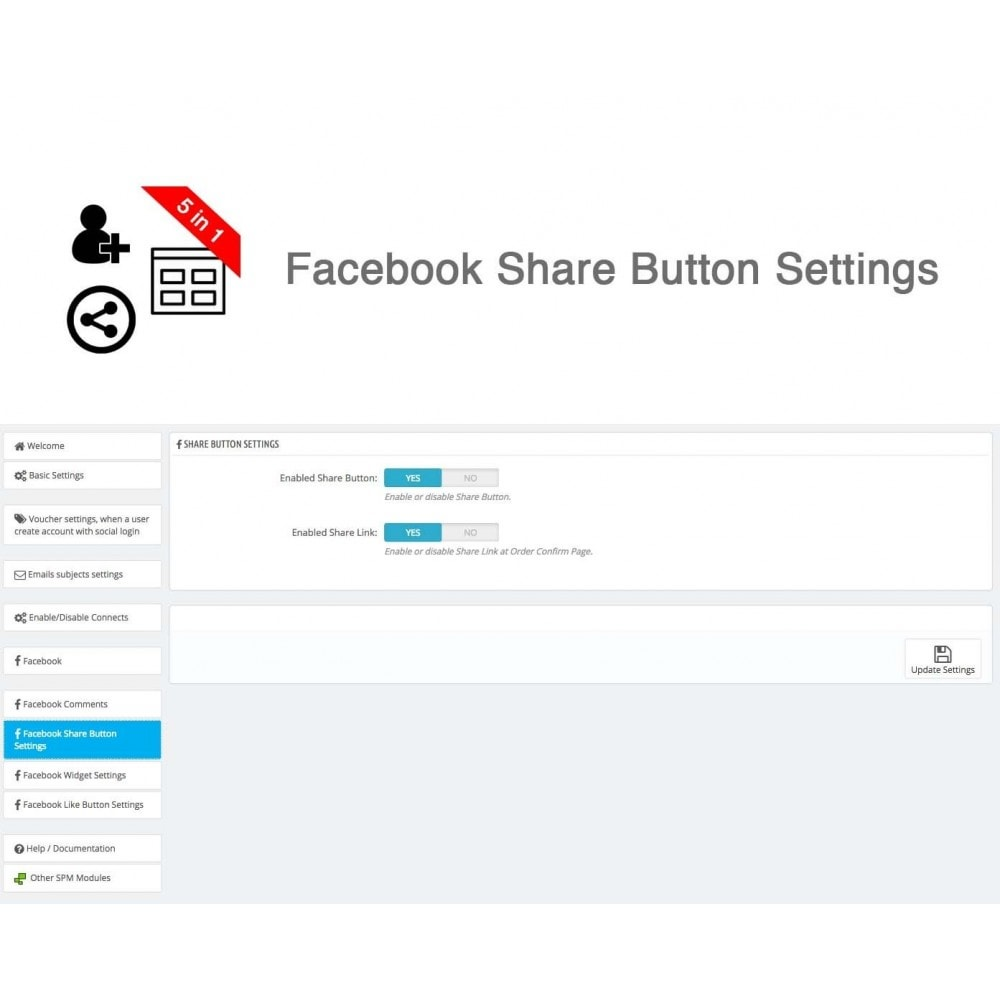 module - Share Buttons & Comments - Social Connect, Like, Share, Widget, Comments 5 in 1 - 26