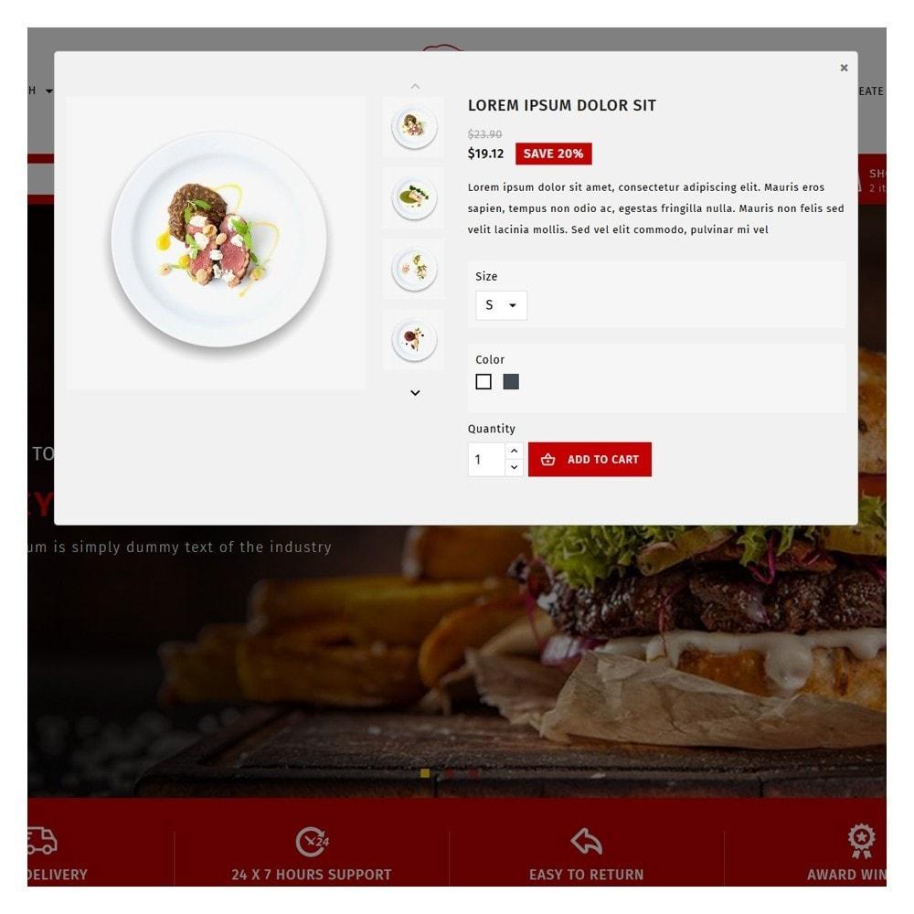 theme - Food & Restaurant - Maxicans Food - 9