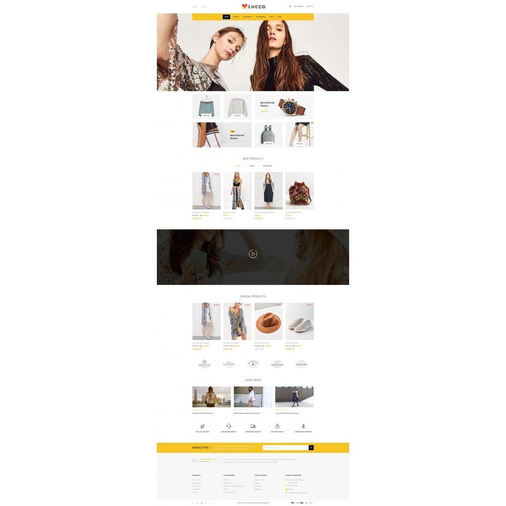theme - Мода и обувь - Lucca - Apparel store - 2