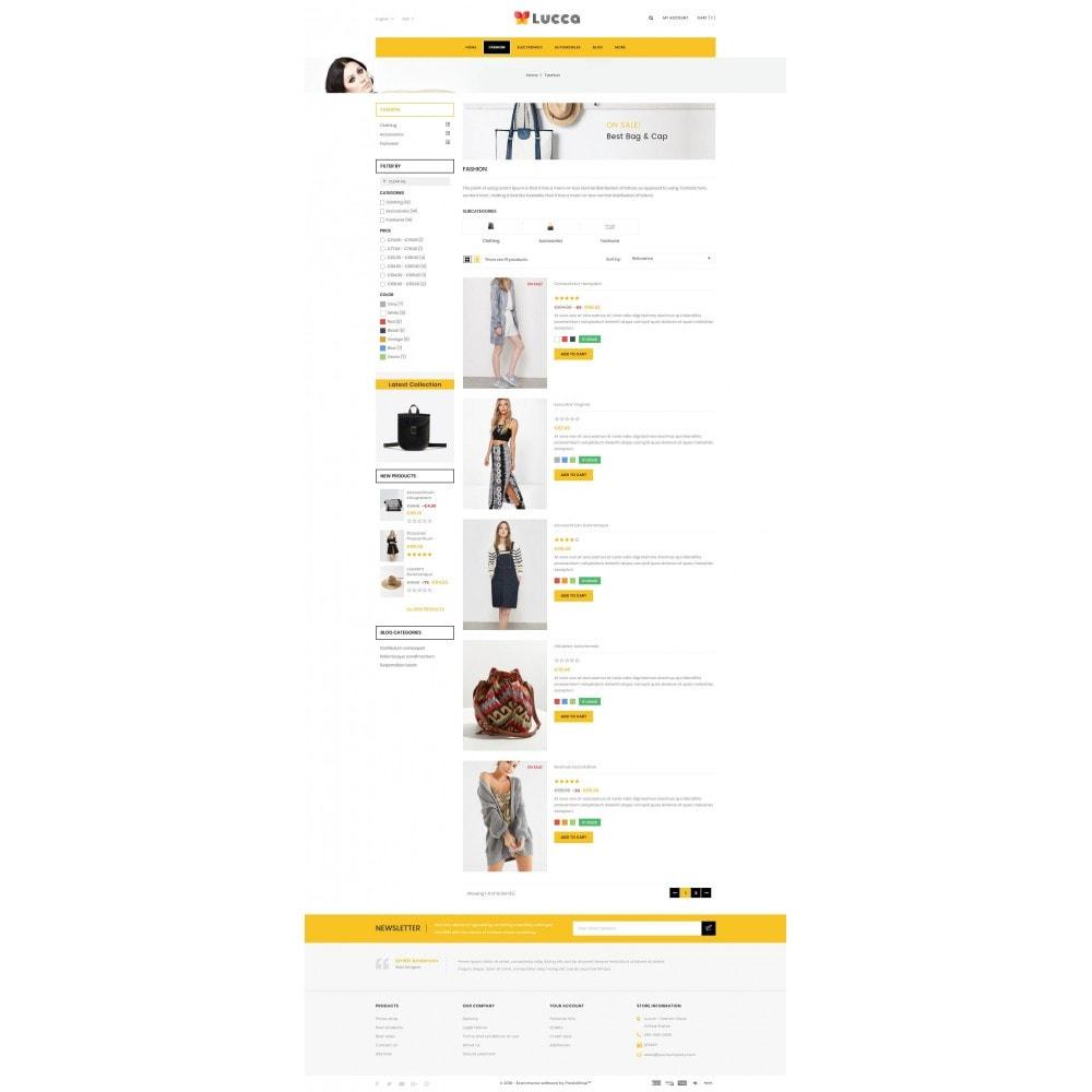 theme - Мода и обувь - Lucca - Apparel store - 4