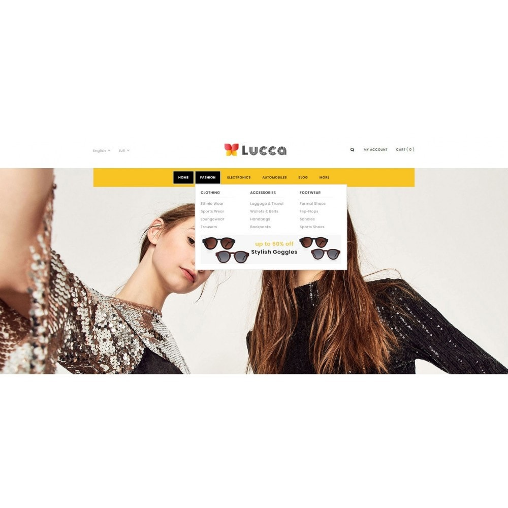 theme - Мода и обувь - Lucca - Apparel store - 6