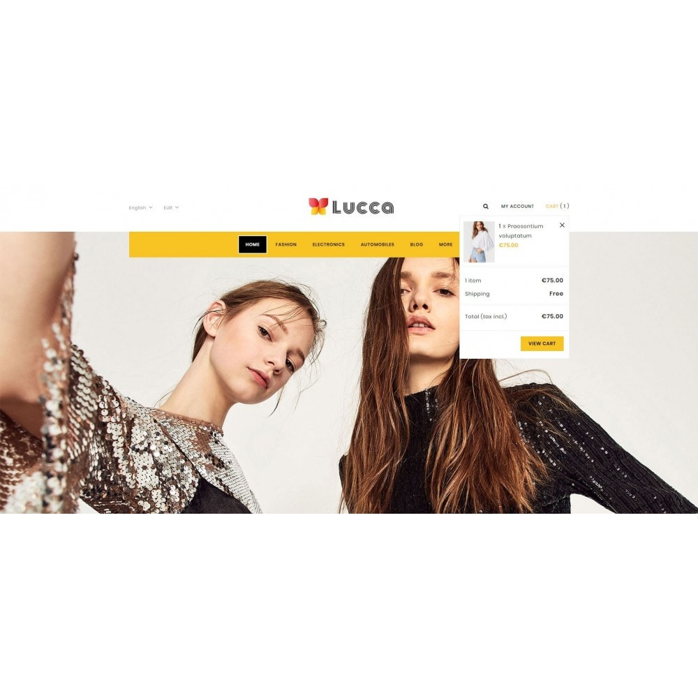 theme - Мода и обувь - Lucca - Apparel store - 7